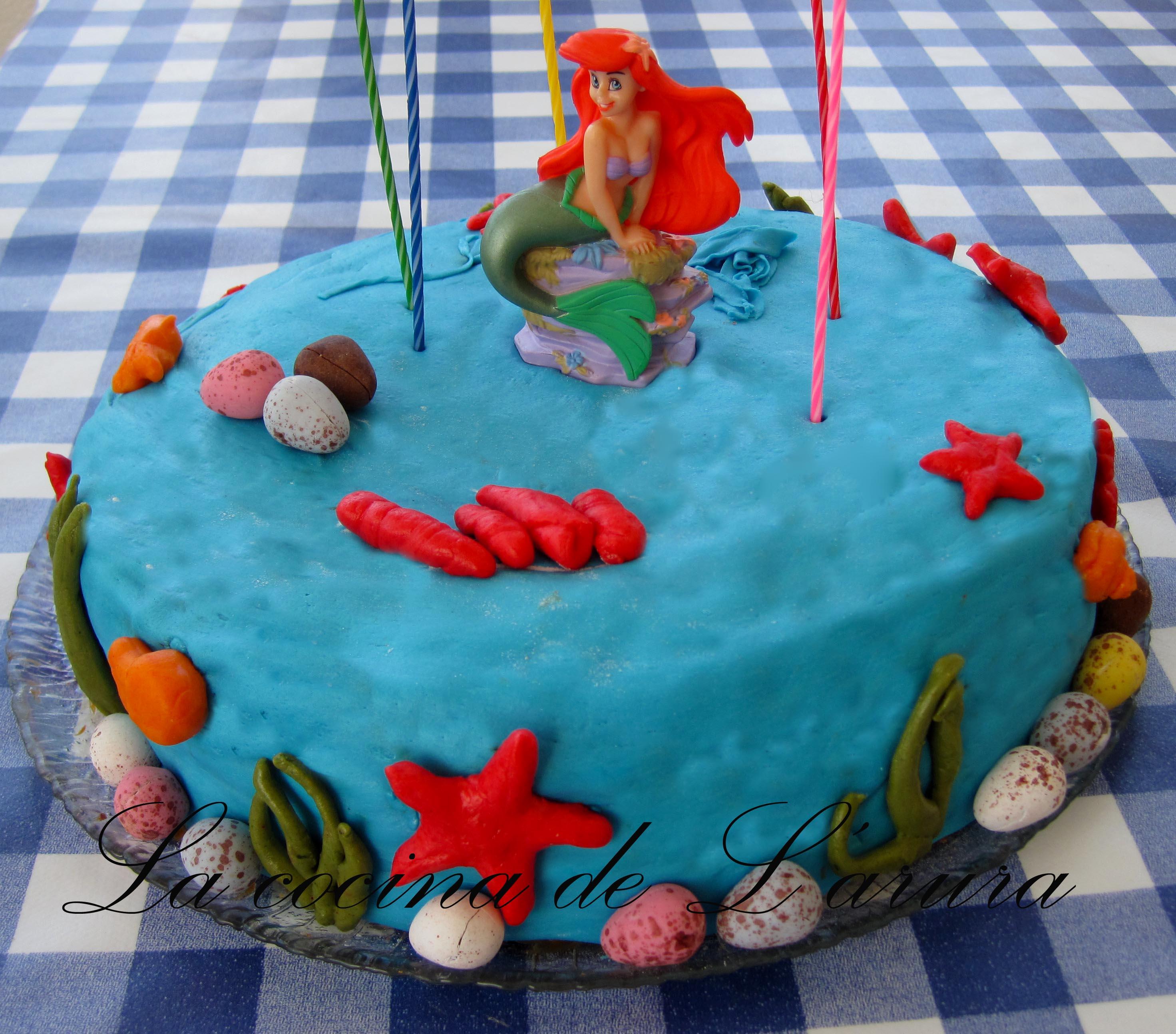 Un gâteau d´anniversaire