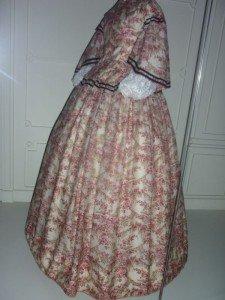 Une robe du 17ième ou 18ième siècle