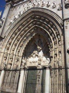 Les arcs de l´extérieur de la Cathédrale